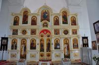 Иконостас в с. Новоселенгинск, респ. Бурятия