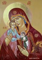 """Икона Божией Матери """"Скорбящая о младенцах во чреве убиенных"""""""